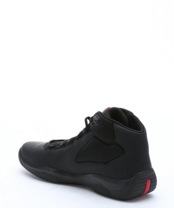 Prada Chaussures En Cuir Sport qGU01deG6