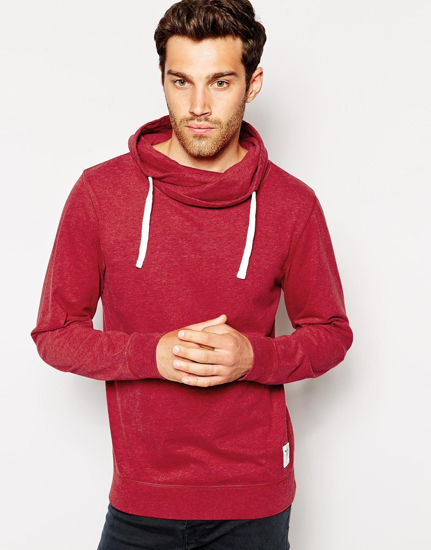Collection Funnel Neck Hoodie Mens Pictures - Reikian