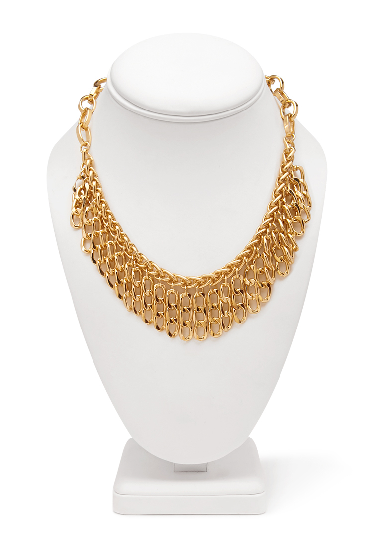 gold choker necklace forever 21