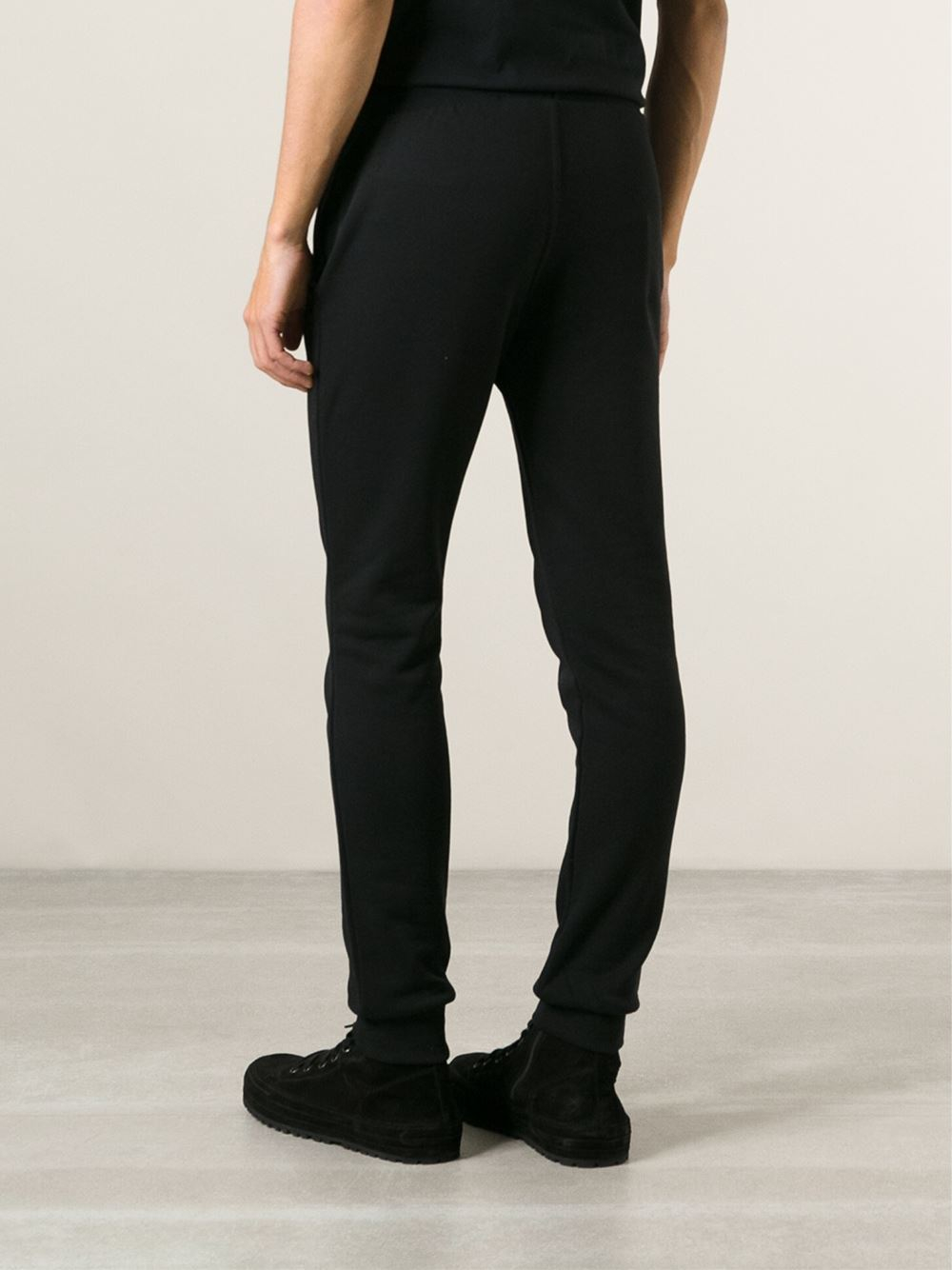 Philipp Plein Skinny Jogging Trousers in Black for Men