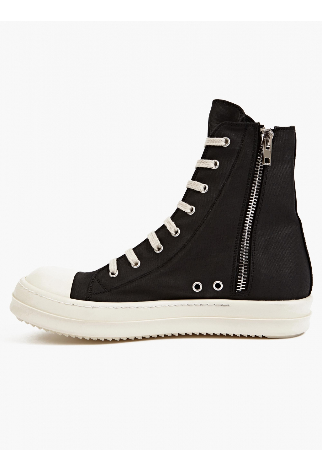 drkshdw by rick owens mens black canvas rms sneakers in black for men lyst. Black Bedroom Furniture Sets. Home Design Ideas