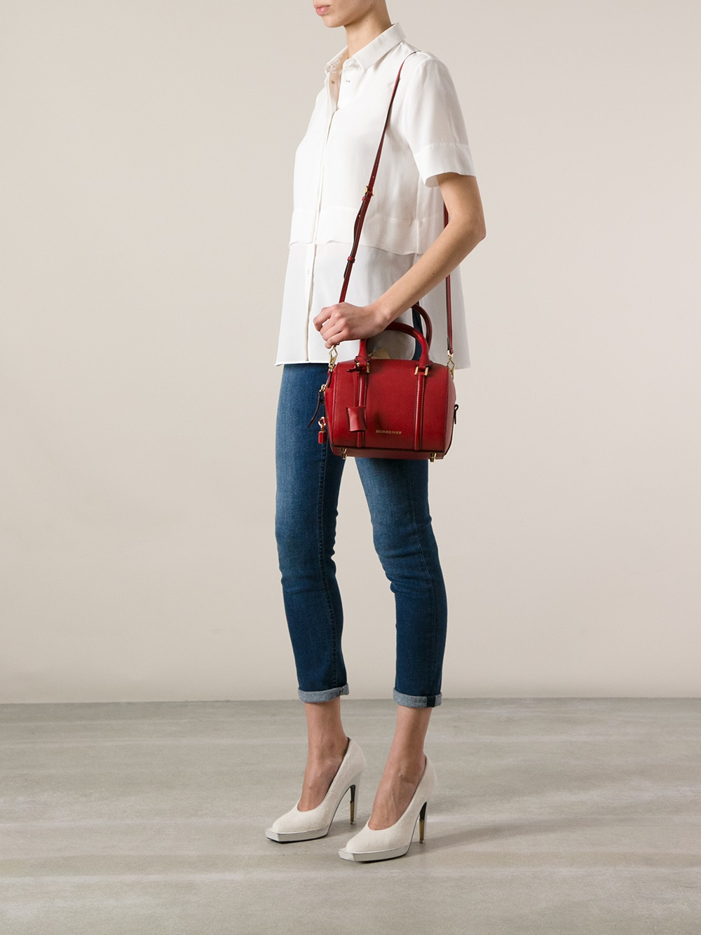 ae7bc80fd4f3 Gallery. Previously sold at  Farfetch · Women s Bowling Bags Women s  Burberry House