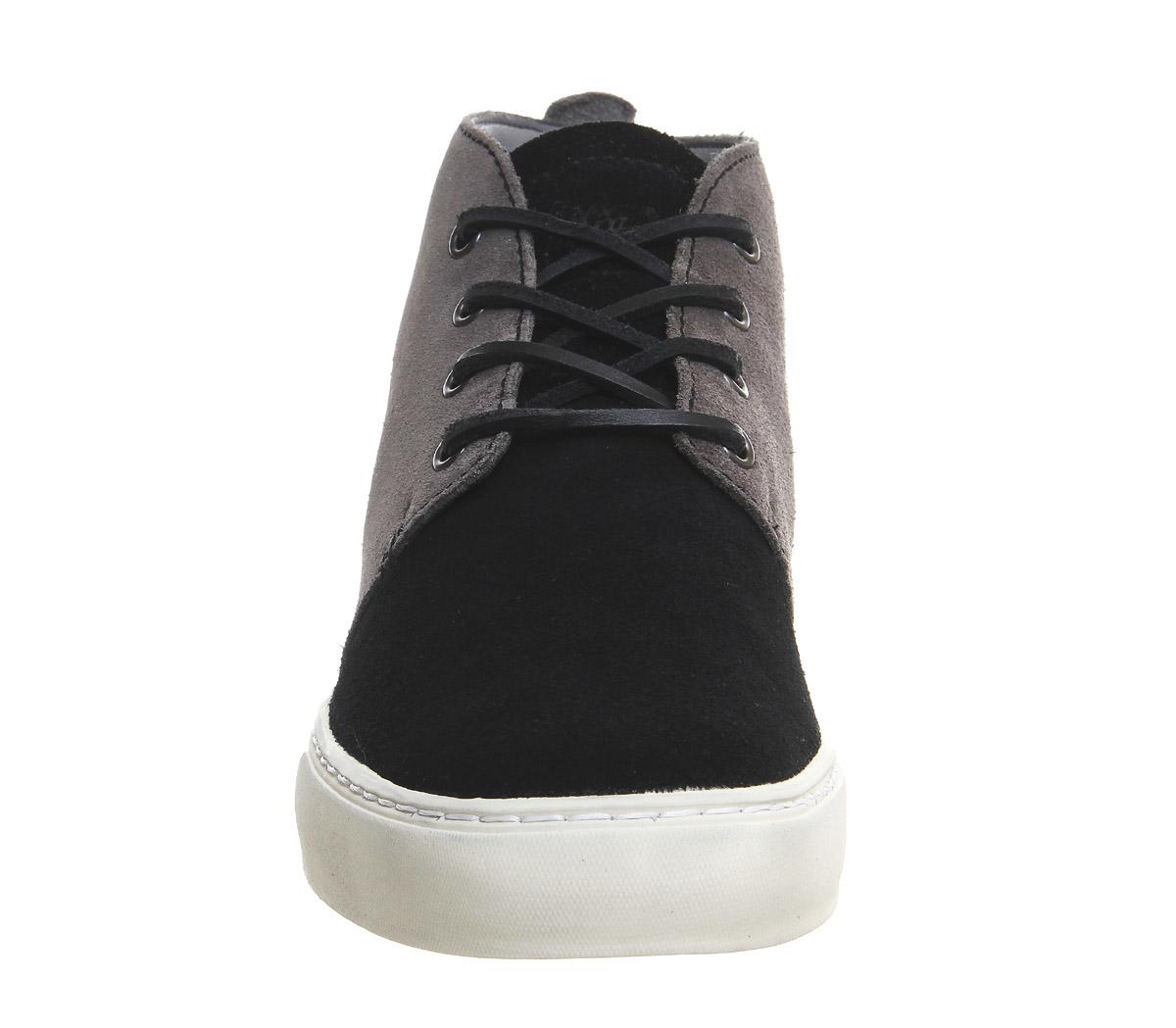Mr Shoes Lace Up Front Black Pants