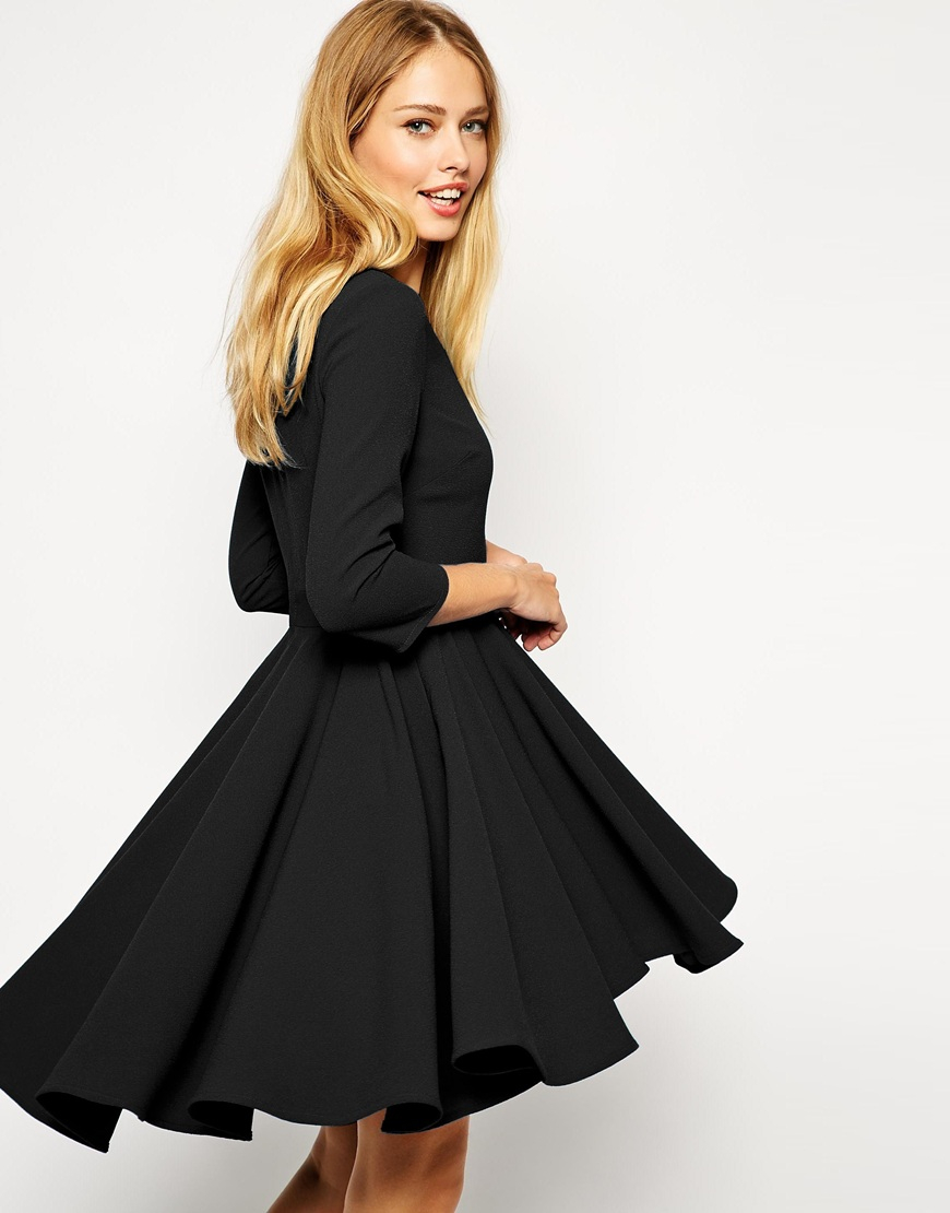 Shop Fit and Flare Skater Dresses at Tobi. Whether it's a white lace skater dress, black long sleeve or red skater dress - find it here. 50% Off First Order!