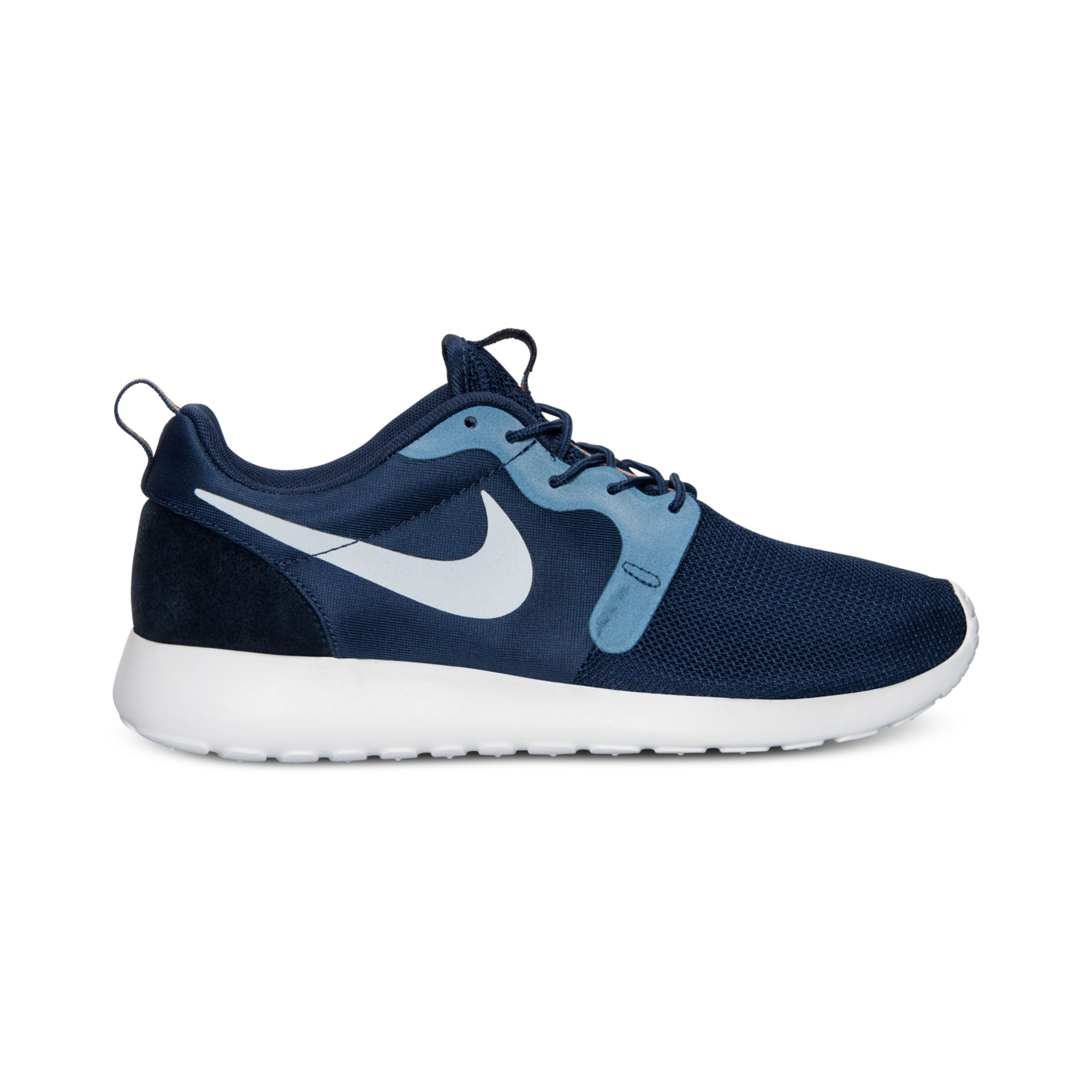 Nike Mens Roshe Run Hyperfuse Casual Sneakers From Finish ...