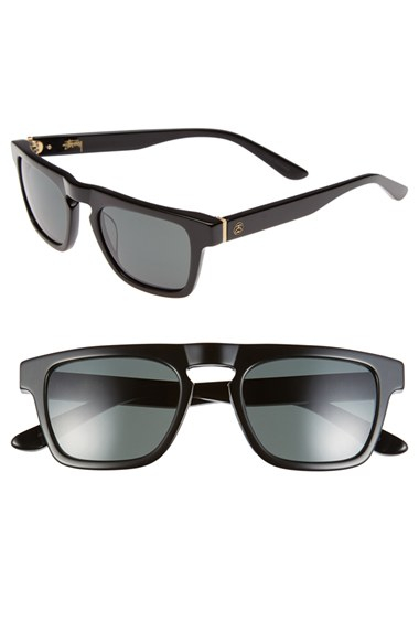 4172f6530671 Lyst - Stussy  louie  60mm Sunglasses in Black for Men