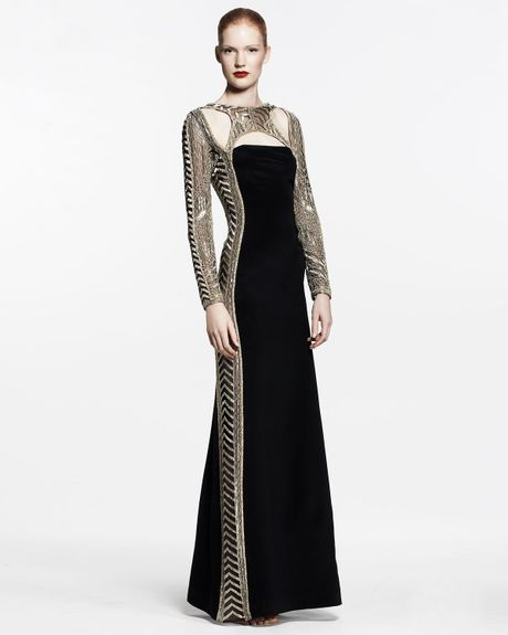Gold Caviar Emilio Pucci Dress Gown in Black Emilio Pucci