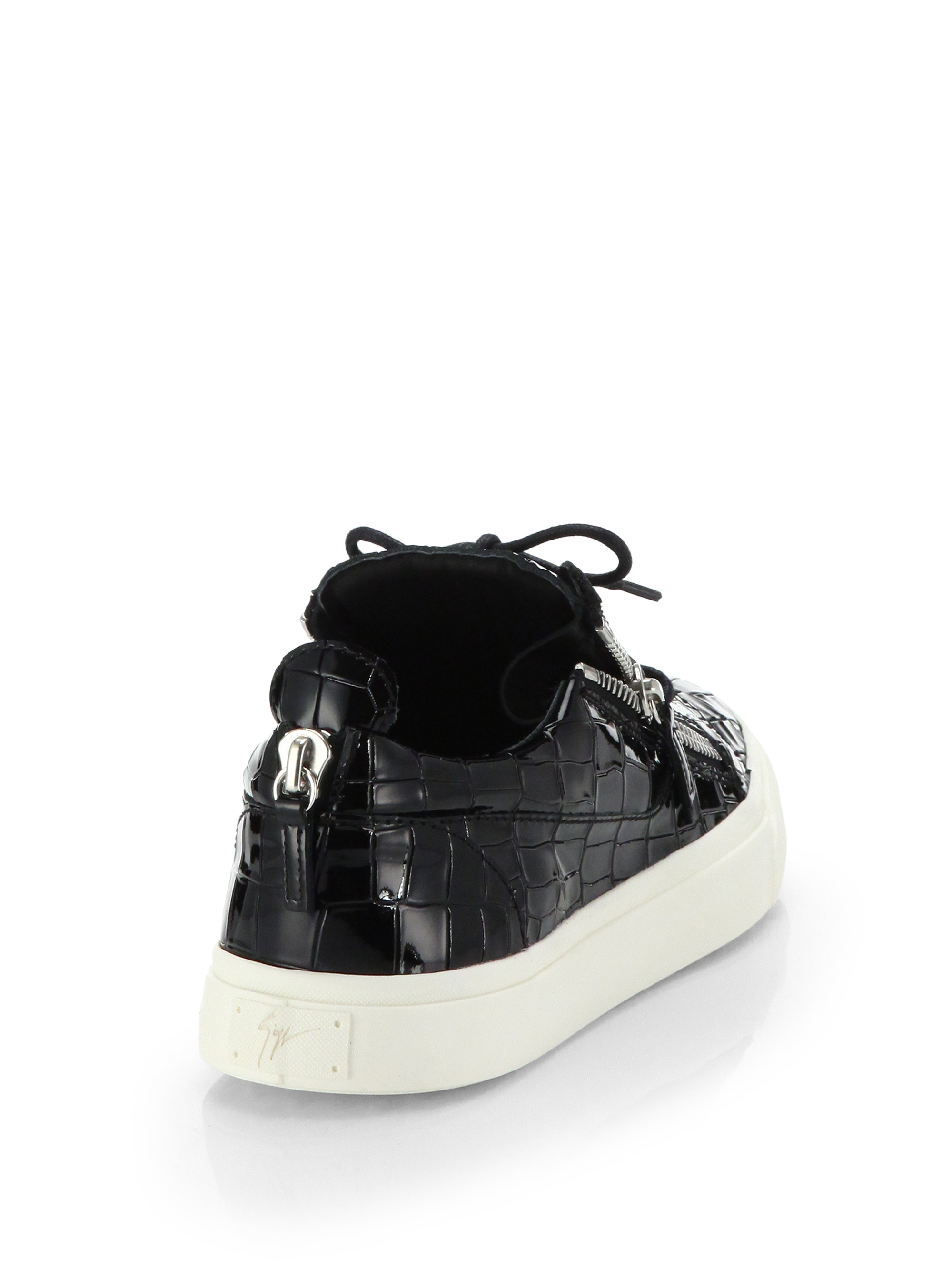 Giuseppe ZanottiPatent Frankie sneakers GuwPMT