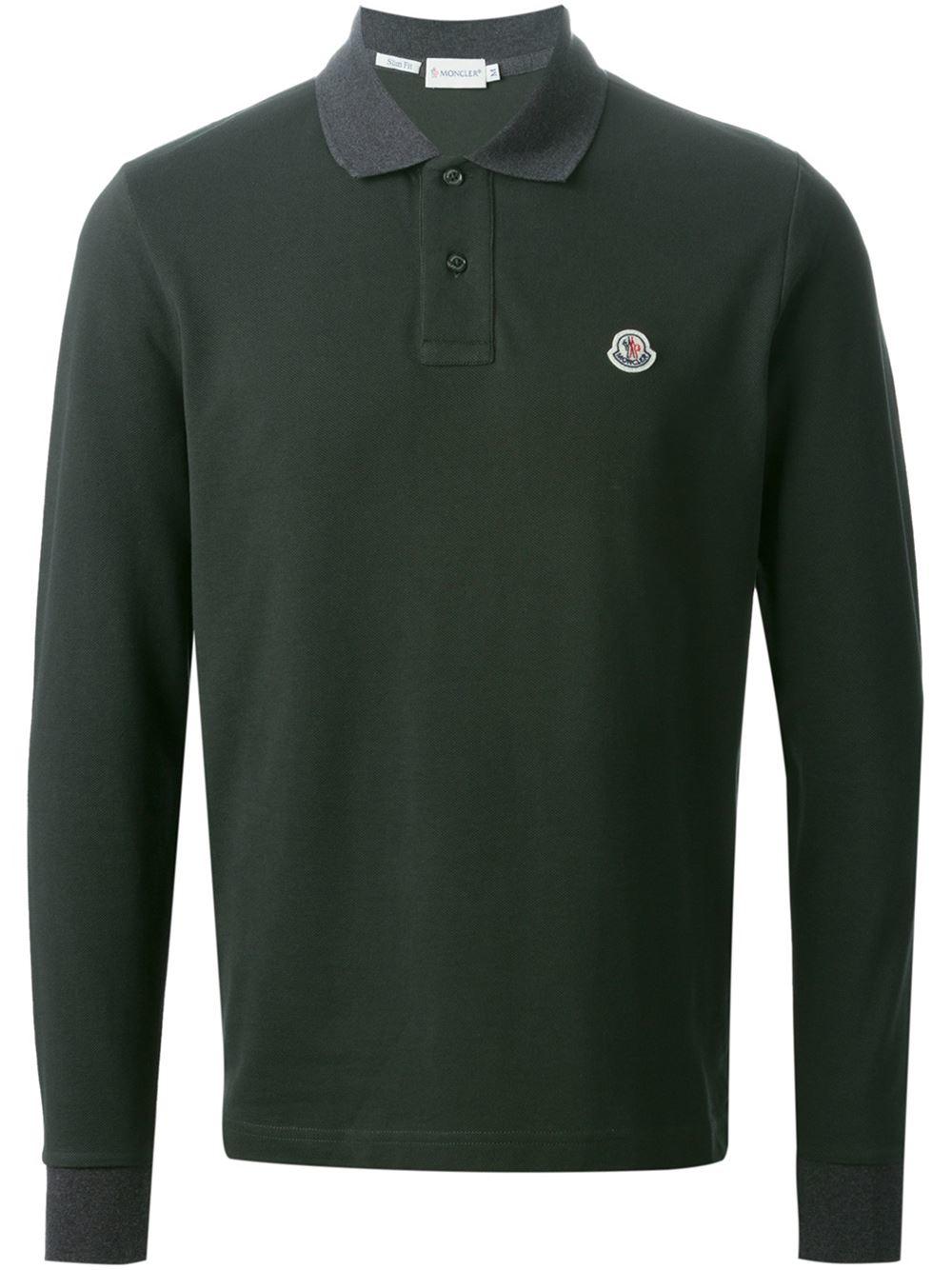 d2b77f651359 Moncler Polo Shirt. moncler classic polo shirt in blue for men navy ...