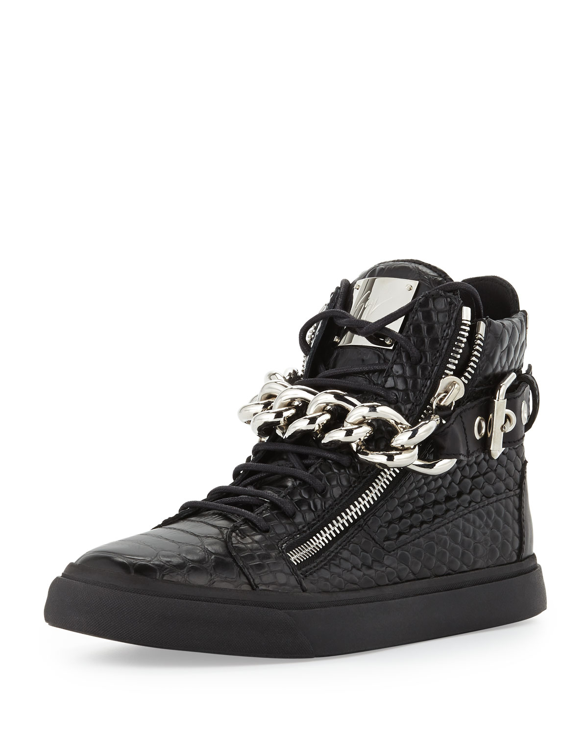 Get free shipping on Versace Colorblock Chain Reaction Sneakers at Neiman Marcus. Shop the latest luxury fashions from top designers.