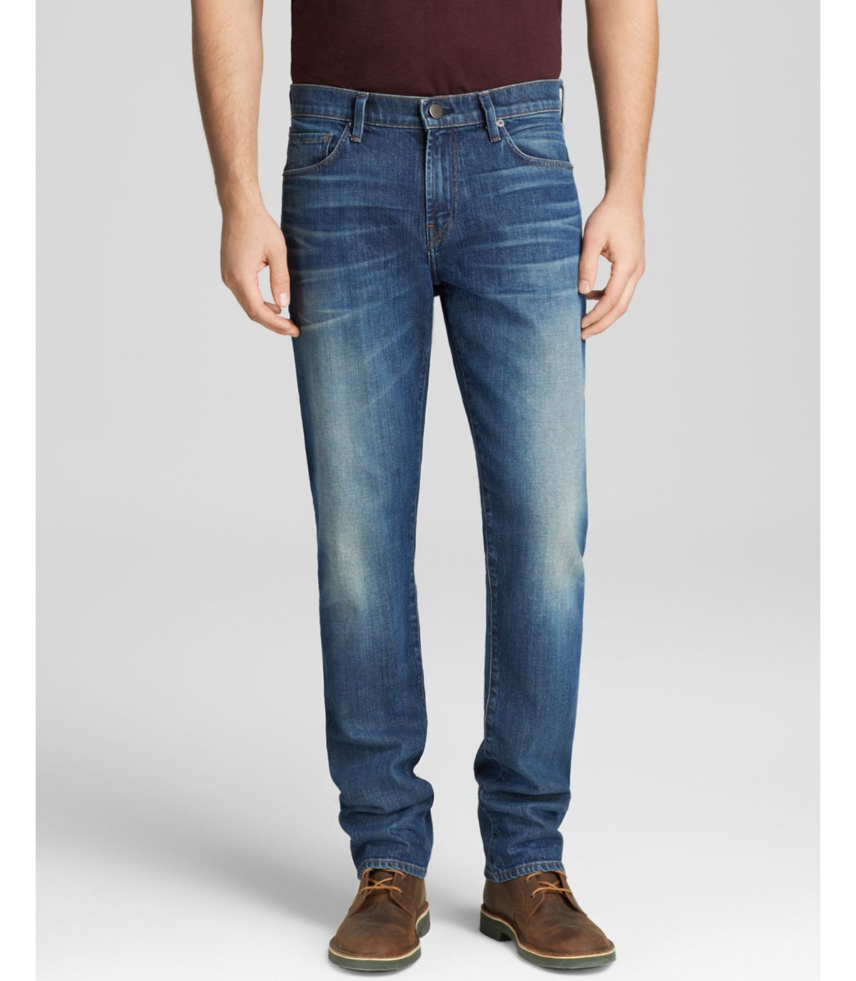 j brand jeans cole new tapered fit in pierson in blue for men pierson lyst. Black Bedroom Furniture Sets. Home Design Ideas