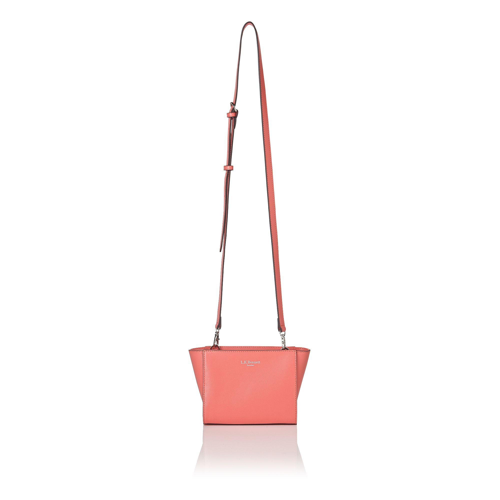 L.K.Bennett Kaylee Crossbody Bag in Pink