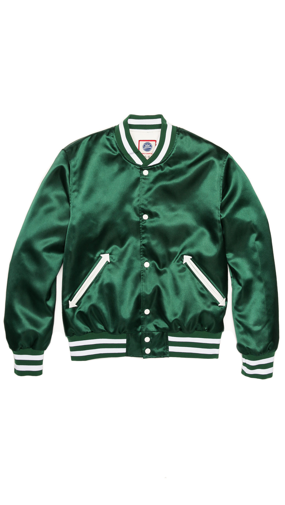 S&h athletics Bird Baseball Jacket in Green for Men | Lyst
