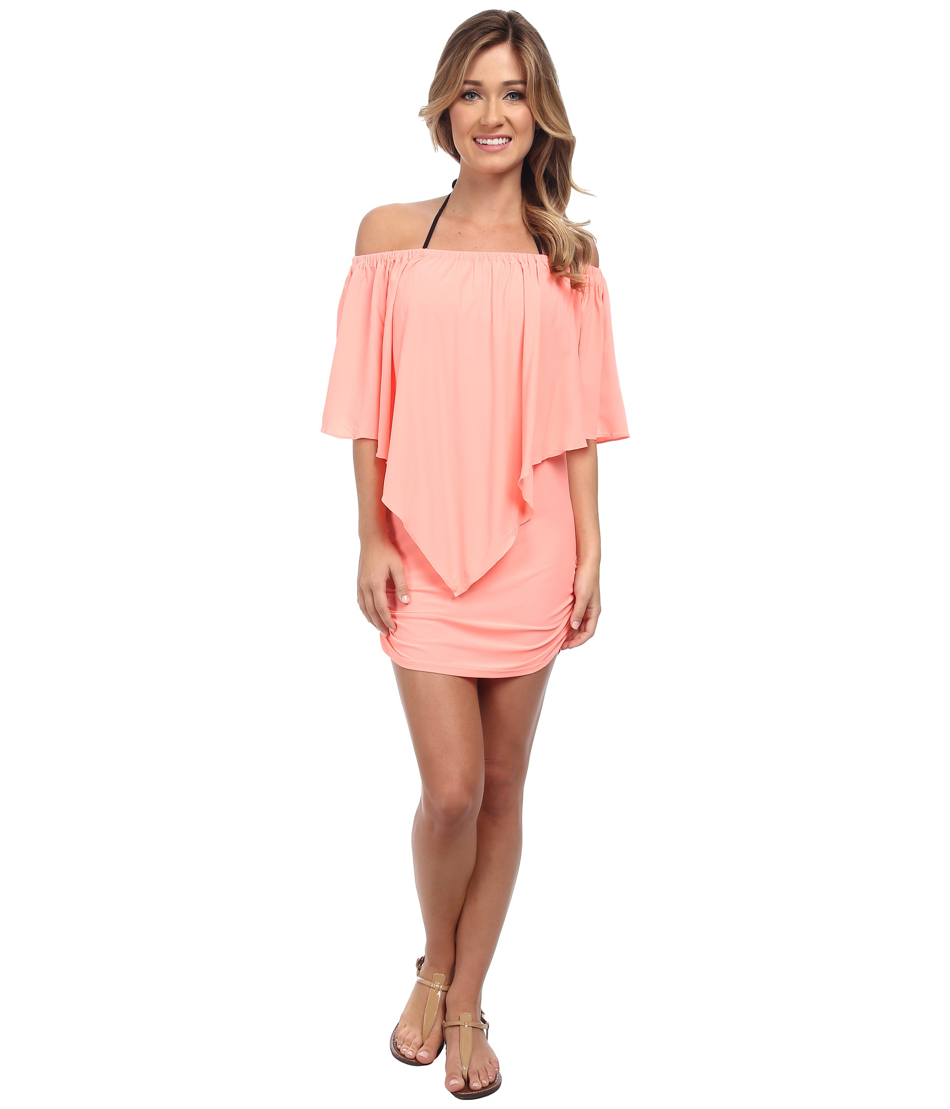 024e145f750 Lyst - Luli Fama Cosita Buena Party Dress Cover-Up in Pink