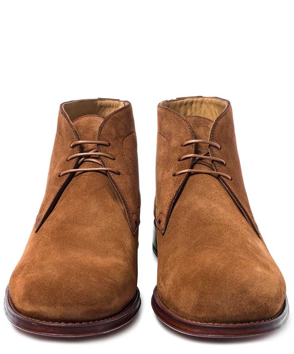 cdc17ea7077 Paul Smith Brown Morgan Suede Chukka Boots for Men - Lyst