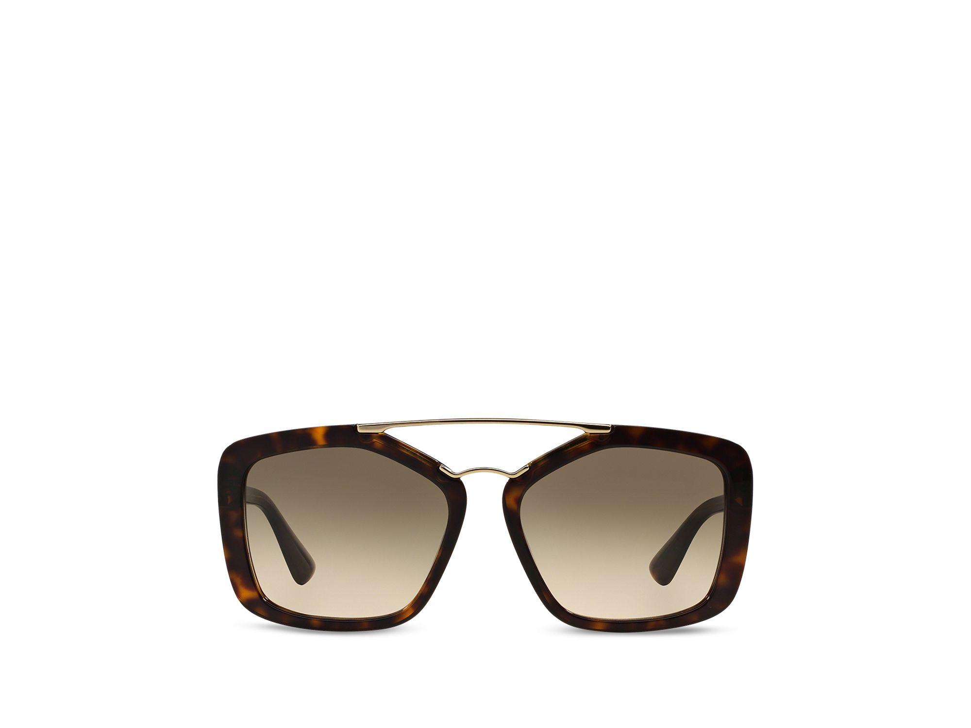 08ce8ae0bd26 ... canada prada catwalk round aviator sunglasses 1a967 0ccbb