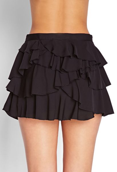 Mini Ruffled Skirt 20