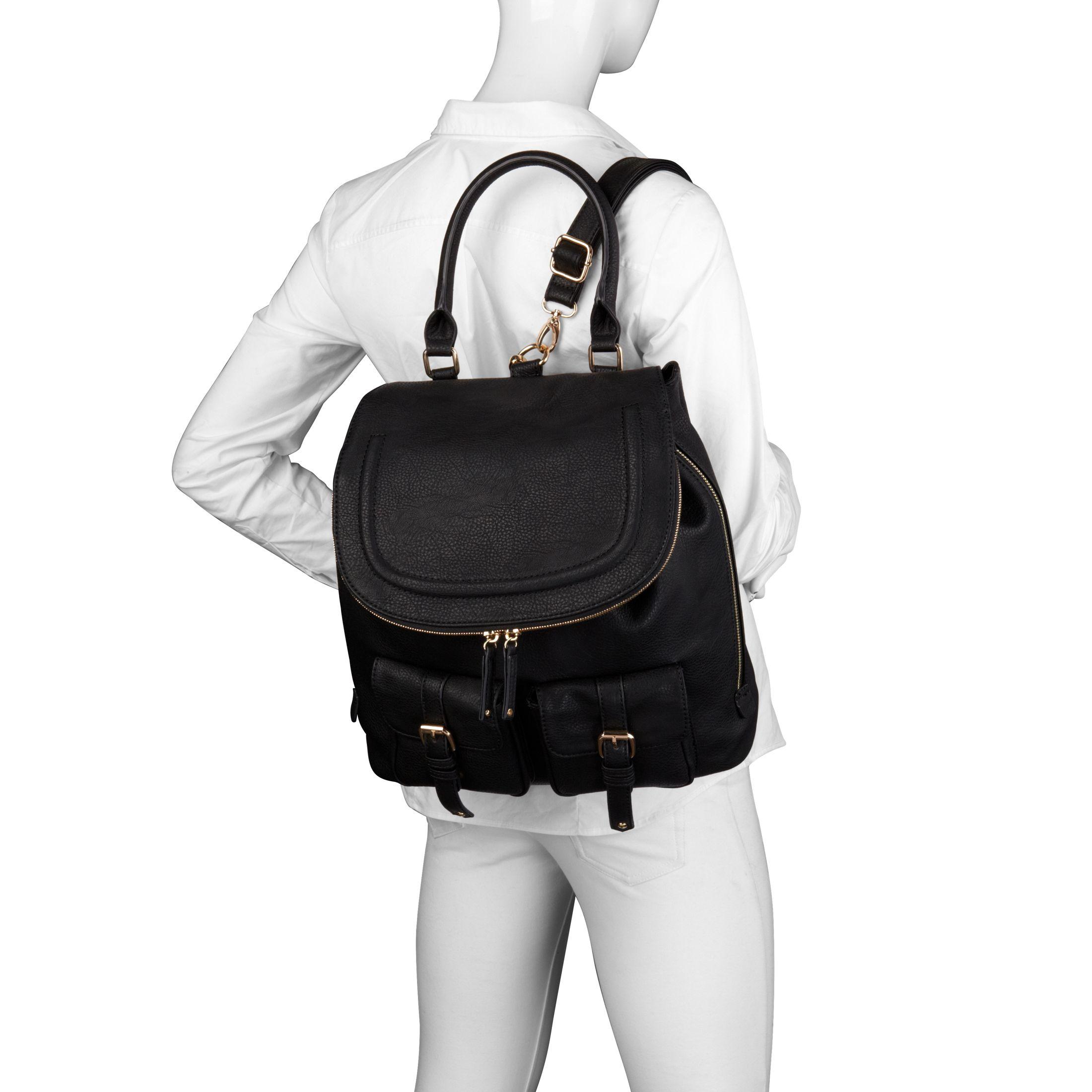 ALDO Botton Backpack in Black