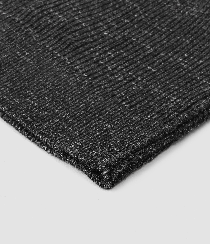 7839b2f5 Lyst - AllSaints Ektarr Beanie Hat Usa Usa in Black for Men