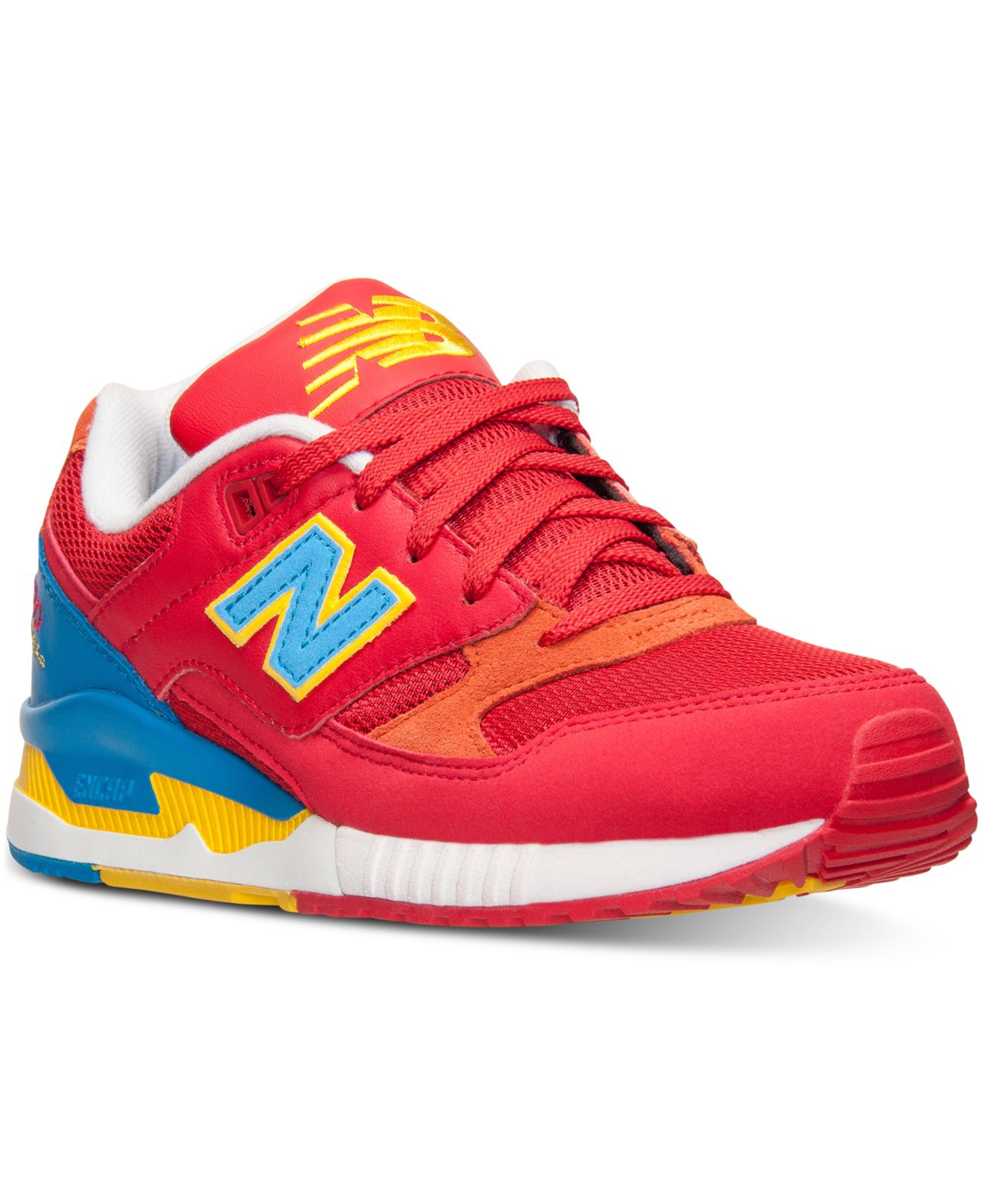 New Balance 530 Women Red/Blue Shoes