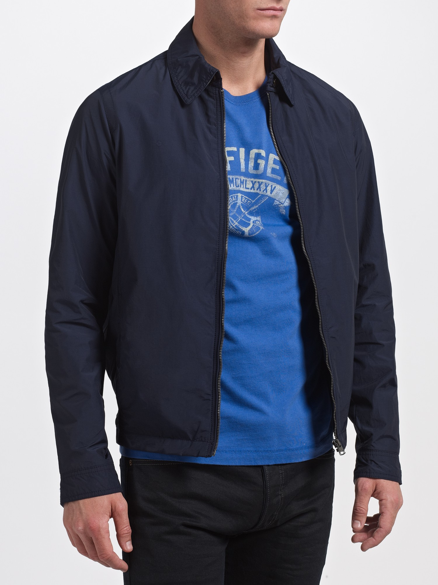 Lyst Tommy Hilfiger Ivy Harrington Style Jacket In Blue