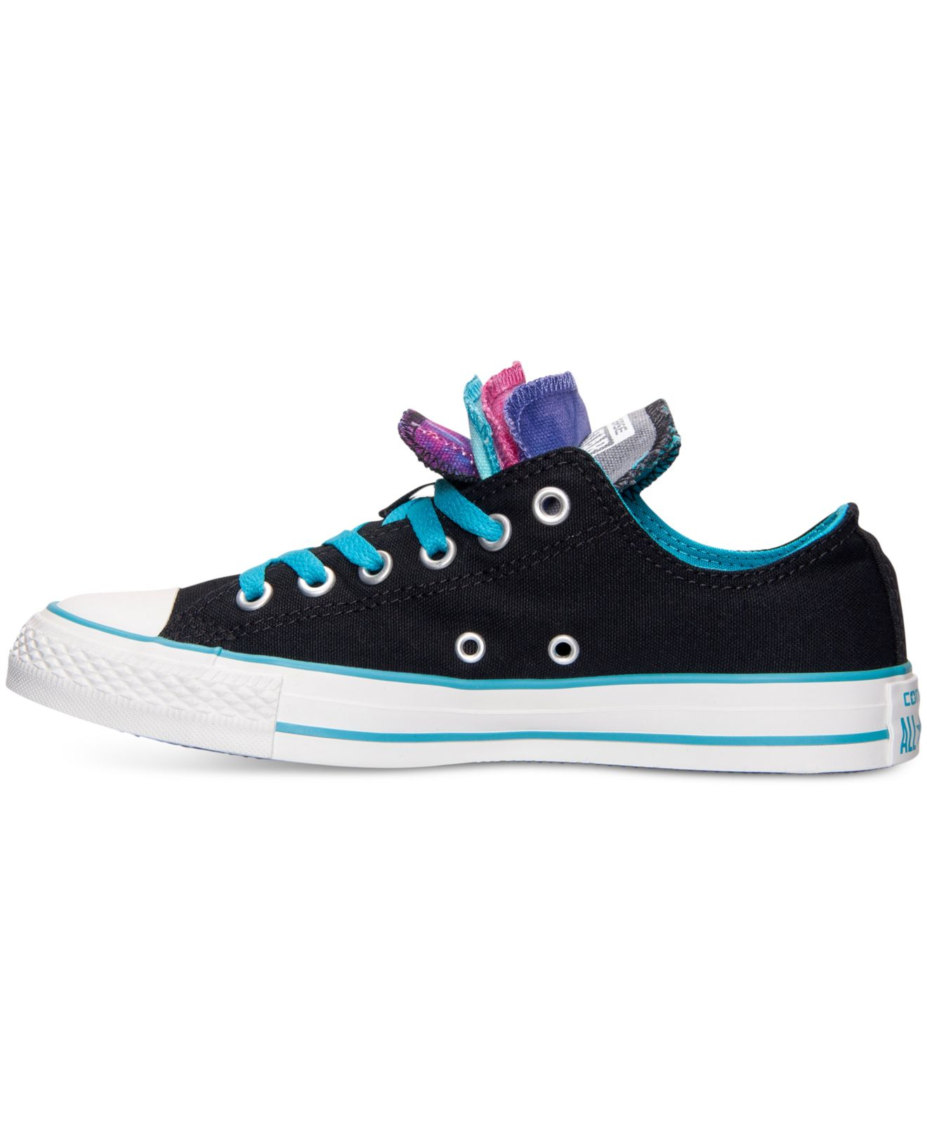 b3a524e0ef21 Lyst - Converse Women S Chuck Taylor Ox Multi Tongue Casual Sneakers ...