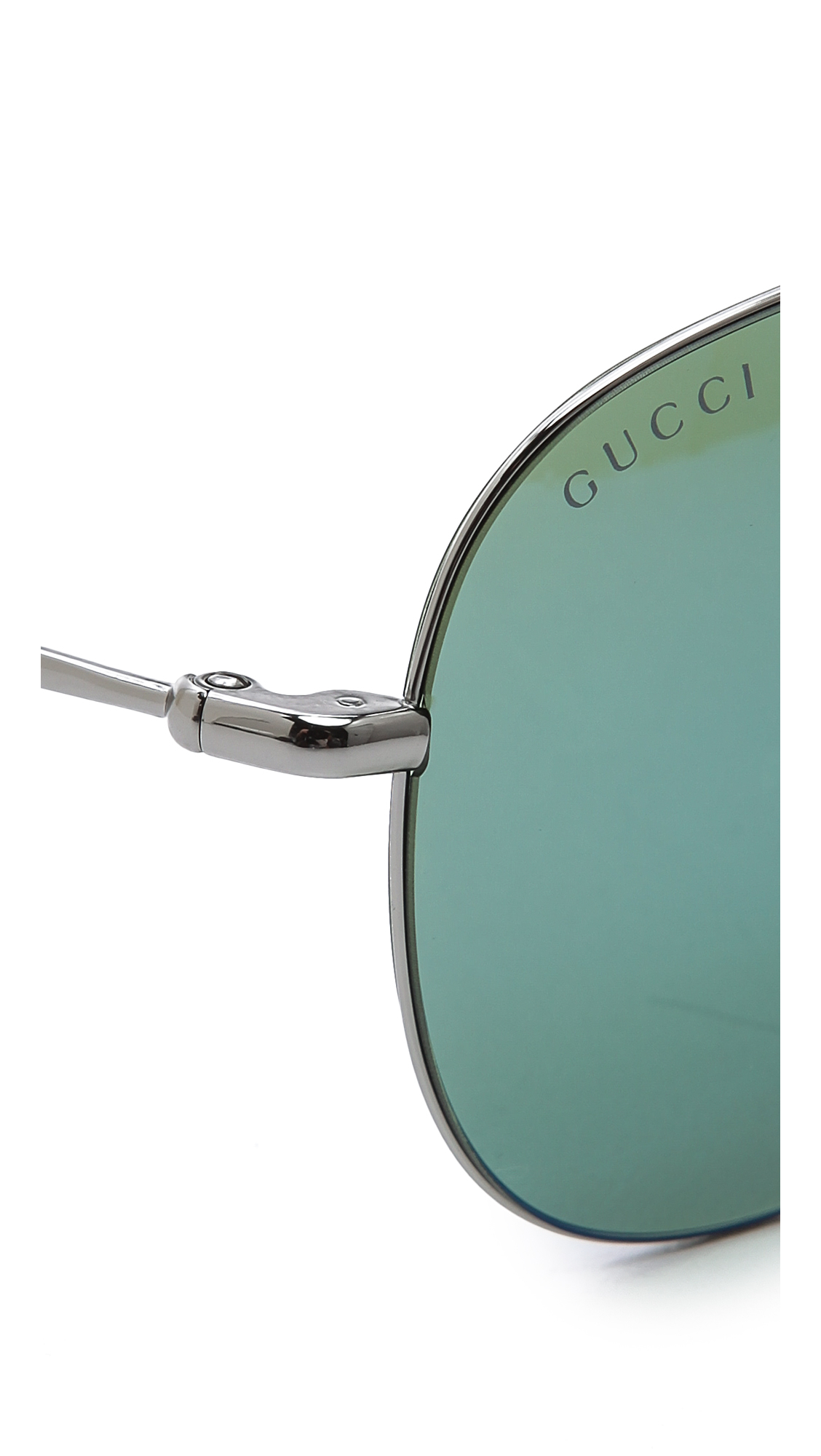 0e1d046adb Gucci Gold Mirror Aviator Sunglasses