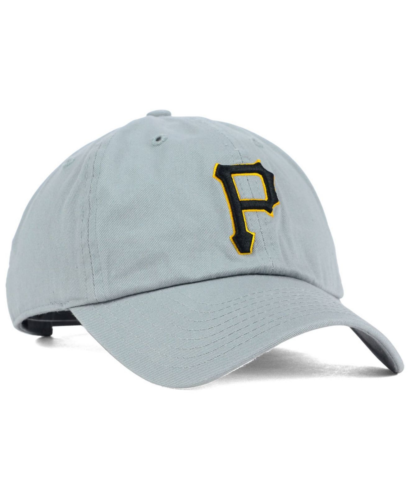7f01f69a8fe ... clean up cap 98e16 7da44  free shipping lyst 47 brand pittsburgh  pirates adjustable cap in gray for men 51670 8feb4