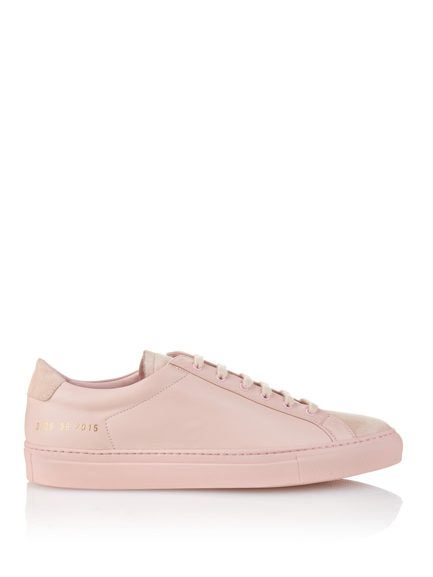 common projects original achilles low in pink save 13 lyst. Black Bedroom Furniture Sets. Home Design Ideas