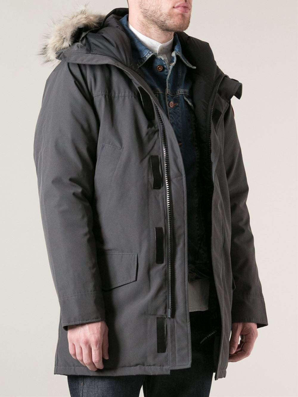 Canada Goose chateau parka outlet official - Canada goose 'Langford' Parka in Gray for Men (grey) | Lyst