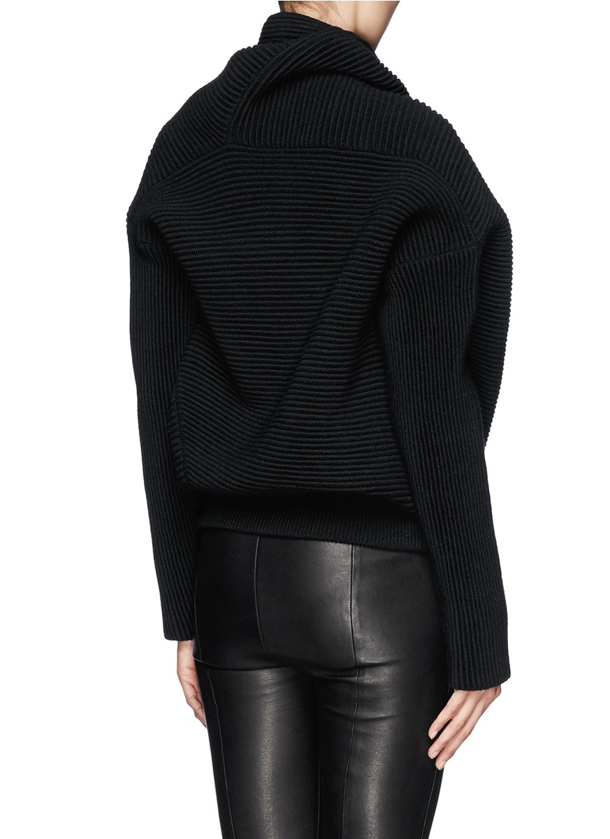 Acne studios 'galactic' Oversize Chunky Knit Turtleneck Sweater in ...