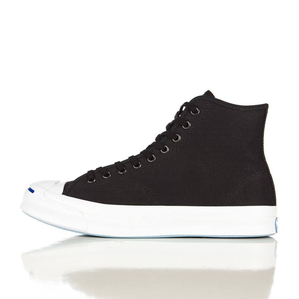 40a2ced02142 Lyst - Converse Jack Purcell Signature Duck Canvas Hi In Black in ...