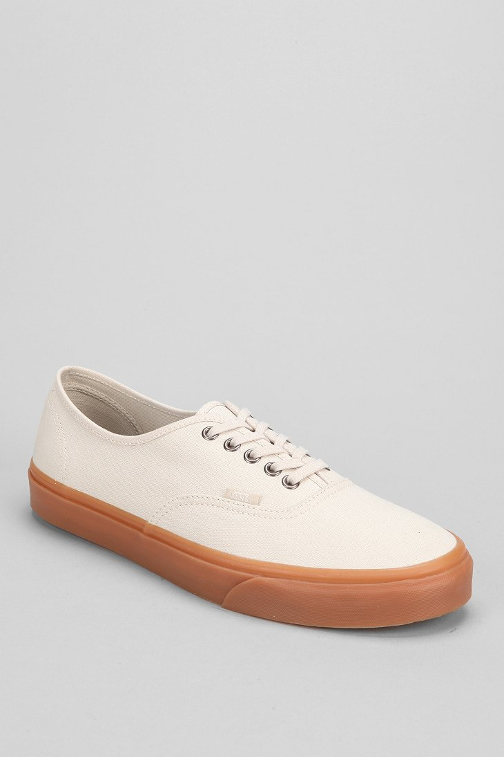 Vans Authentic Gum-Sole Sneaker in Beige for Men (NUDE)