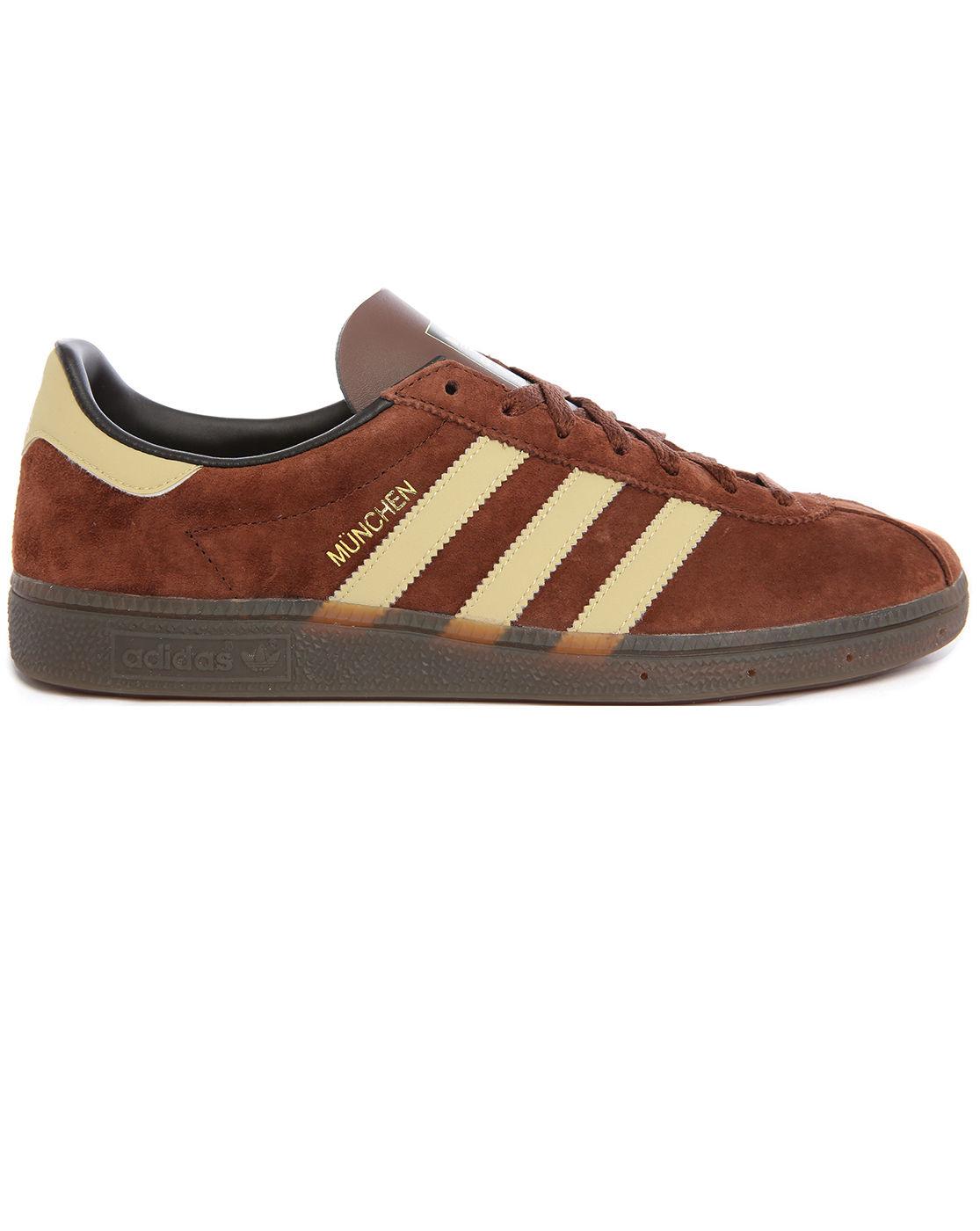 Adidas Originals Brown Suede