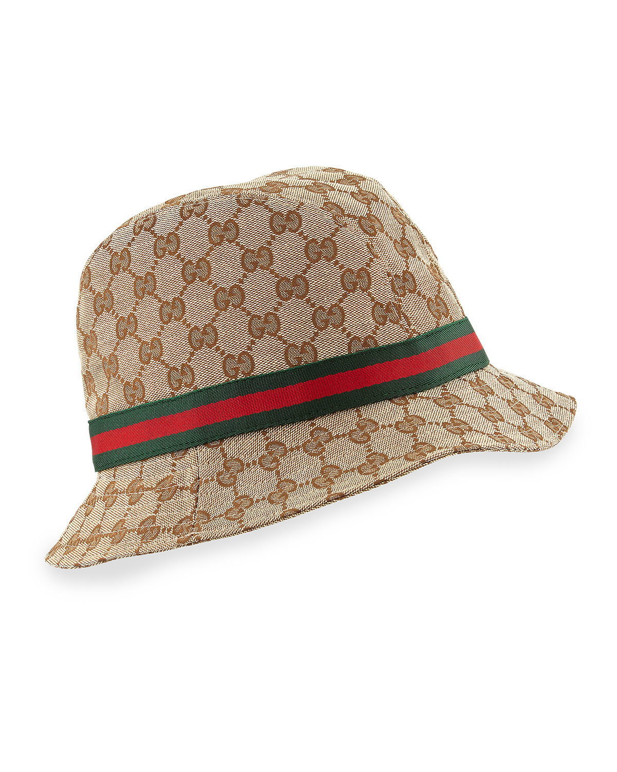 988a718cfd6615 Lyst - Gucci Gg Canvas Fedora in Natural