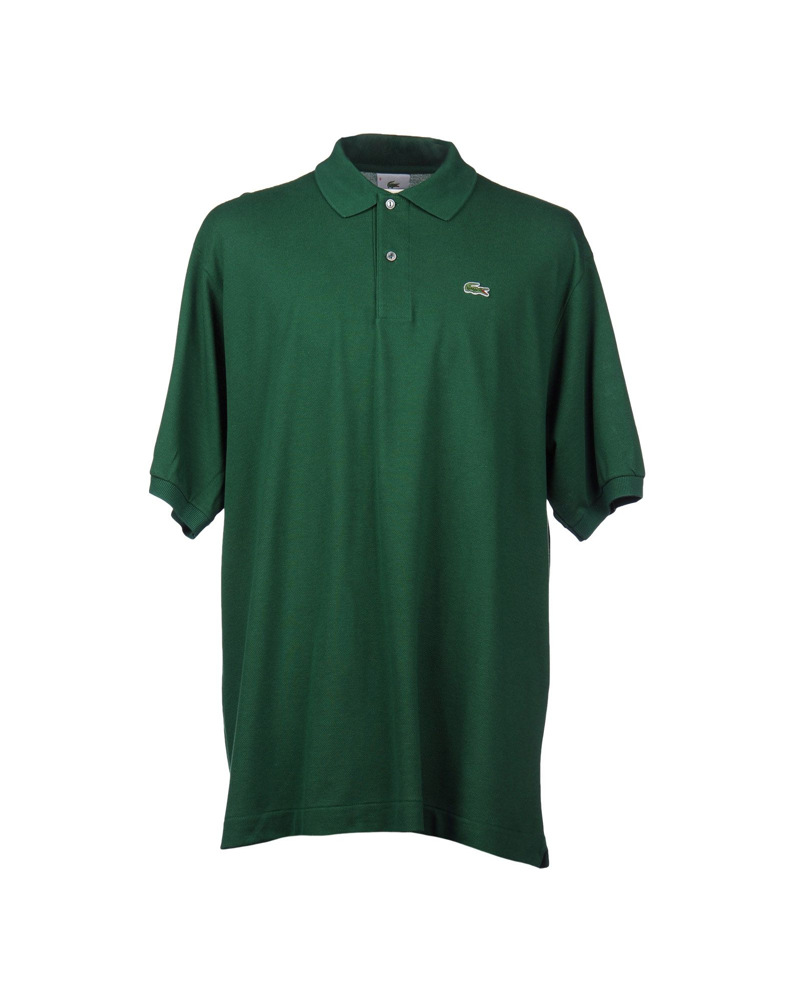Lacoste Polo Shirt In Green For Men Dark Green Lyst