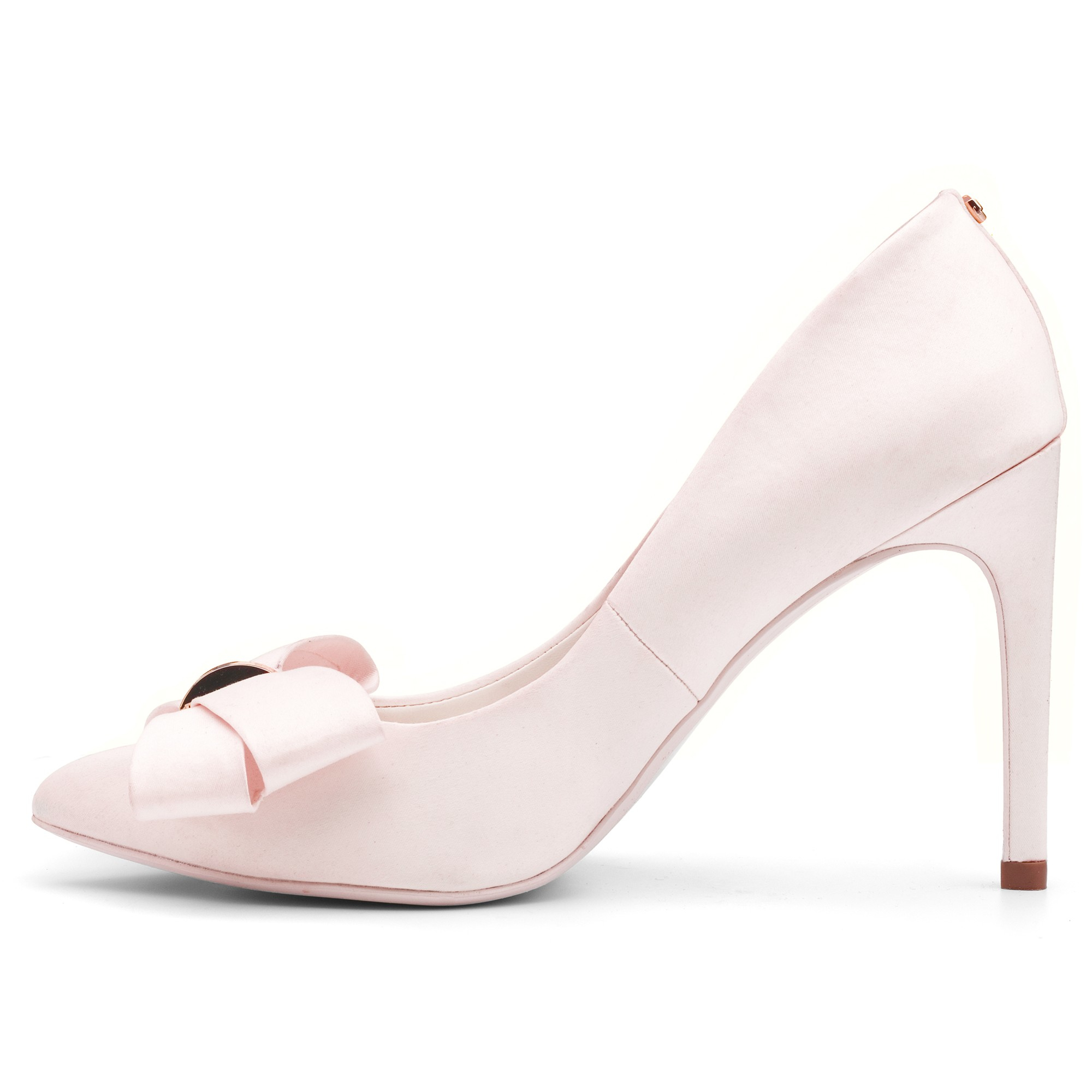 9314cb580b0 Ted Baker Pink Ichlibi Pointed Toe Stiletto Court Shoes