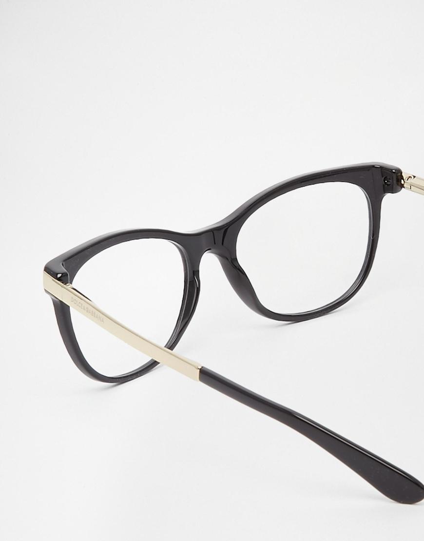 Lyst - Dolce & Gabbana D Frame Glasses in Black