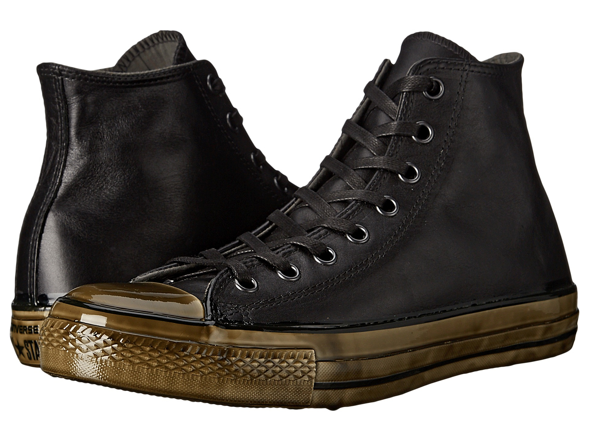 Converse Chuck Taylor All Star Dipped Outsole Hi In Black
