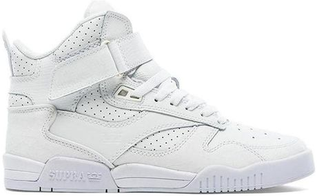 Uk Mens Supra Bleeker - Shoes Supra Bleeker White