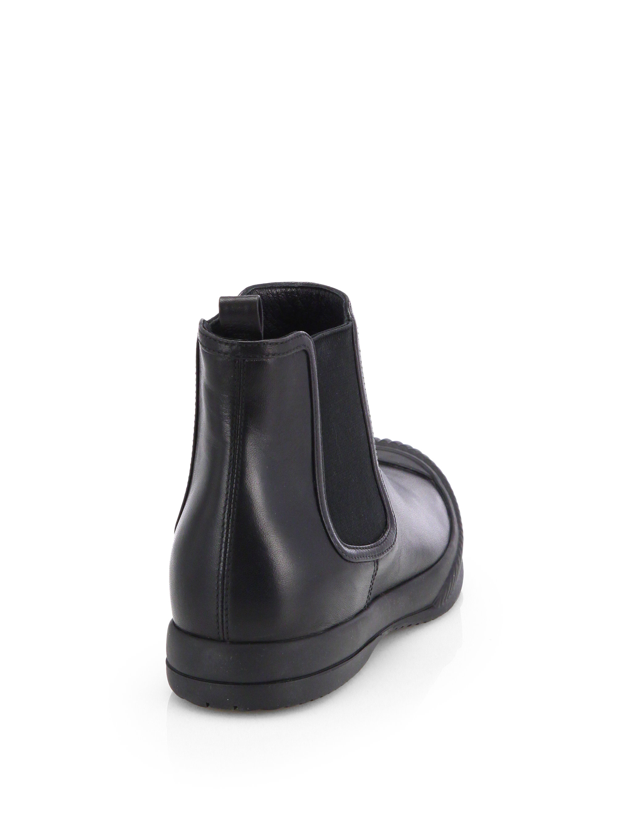 Black Short Ankle Boots - Boot Hto