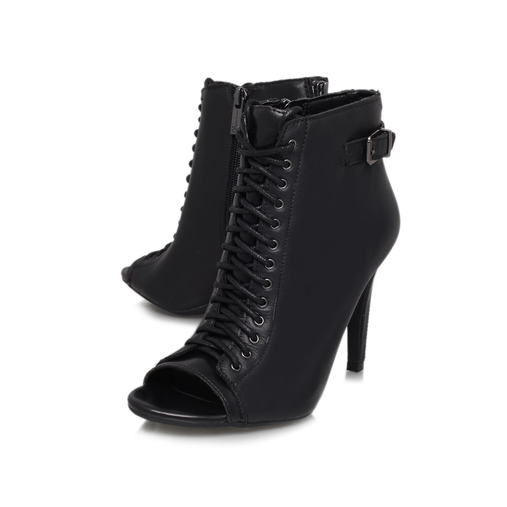 Jessica Simpson Synthetic Erlene High Heeled Boots in Black