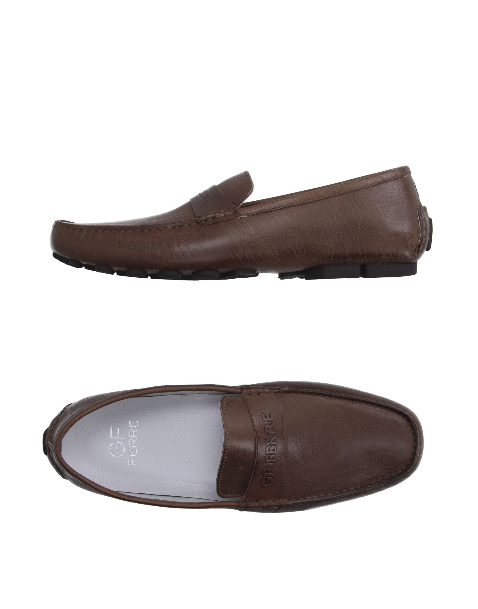 gianfranco ferr 233 moccasins in brown for lyst