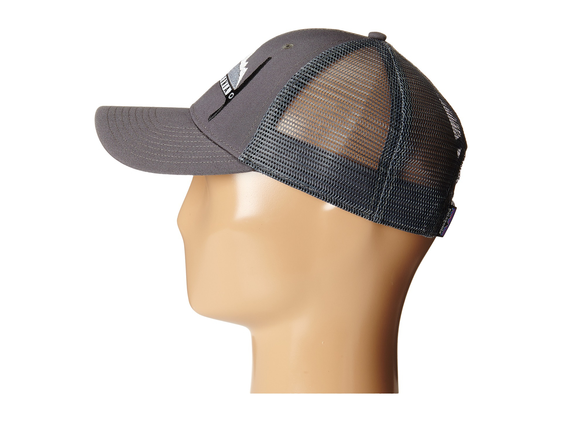 fe686aac6e4 Lyst - Patagonia Day-To-Day Piolet Lopro Trucker Hat in Gray for Men