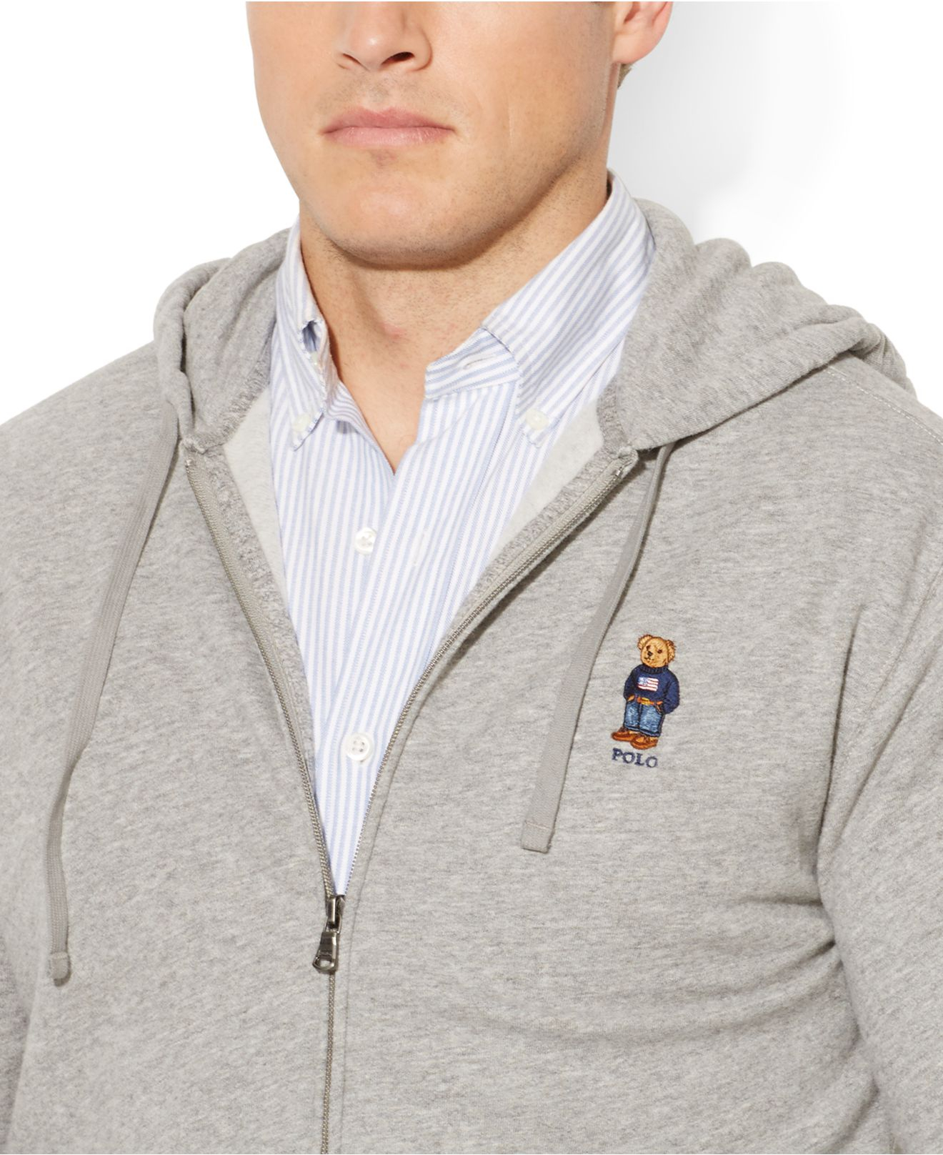 Polo Ralph Lauren French-Rib Full-Zip Hoodie Black