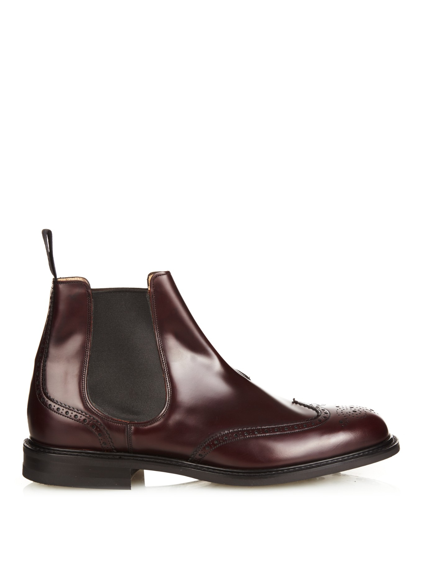 Lyst Church S Cransley 2 Leather Chelsea Boots In Brown