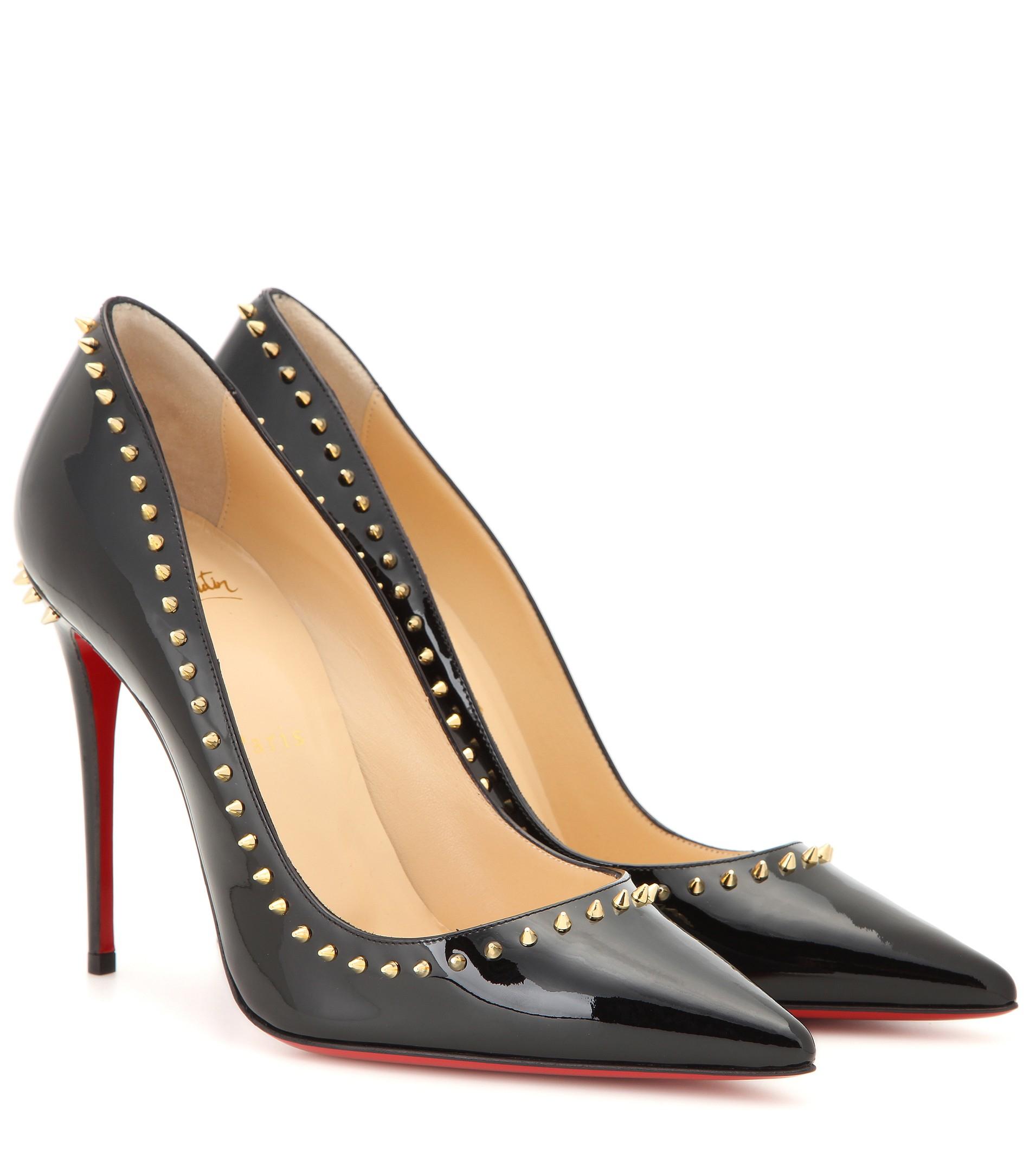 christian louboutins replicas - christian-louboutin-blackgold-anjalina-100-patent-leather-pumps-black-product-0-733697420-normal.jpeg