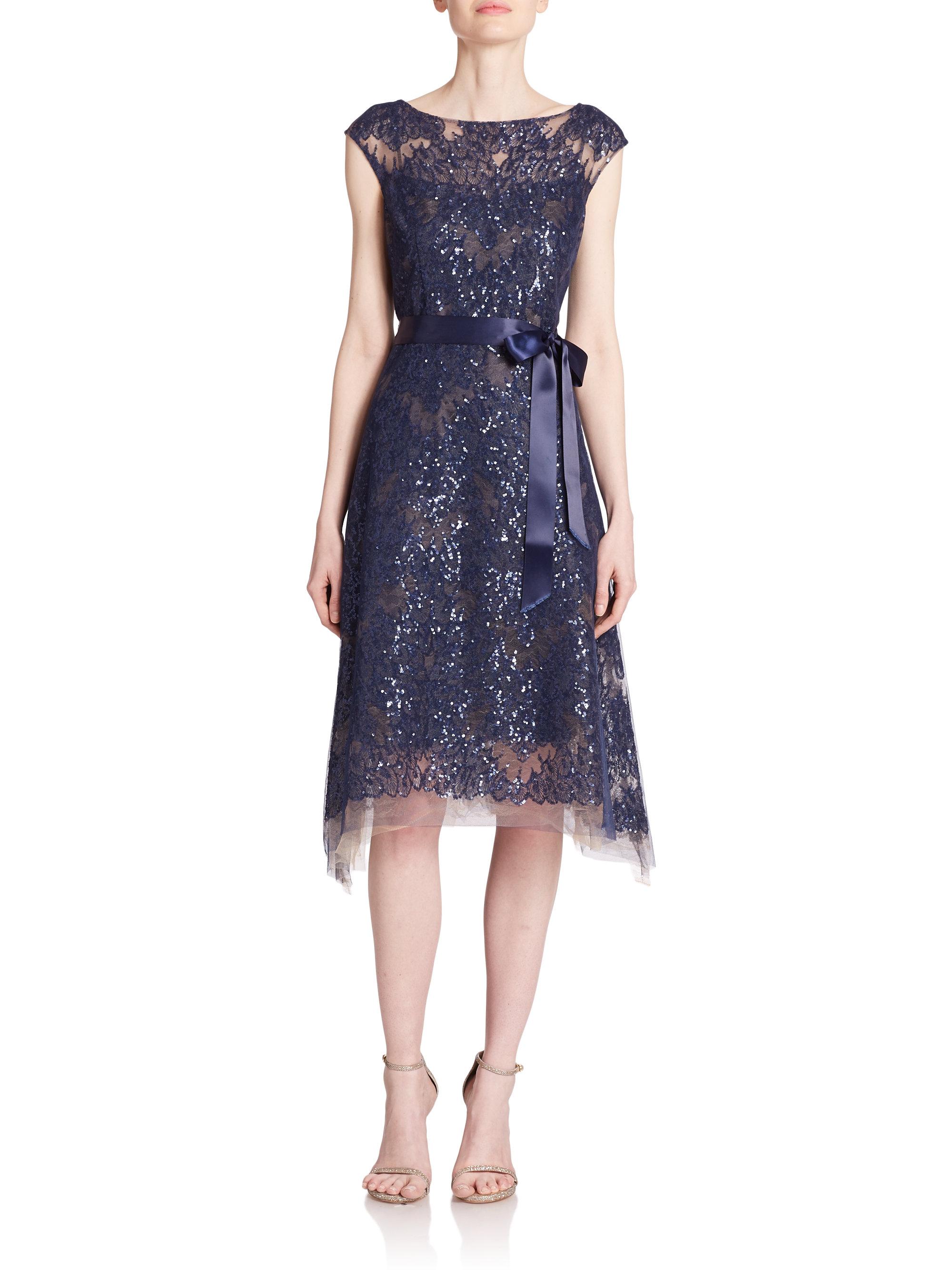 Increíble Cocktail Dresses Saks Inspiración - Ideas de Vestidos de ...