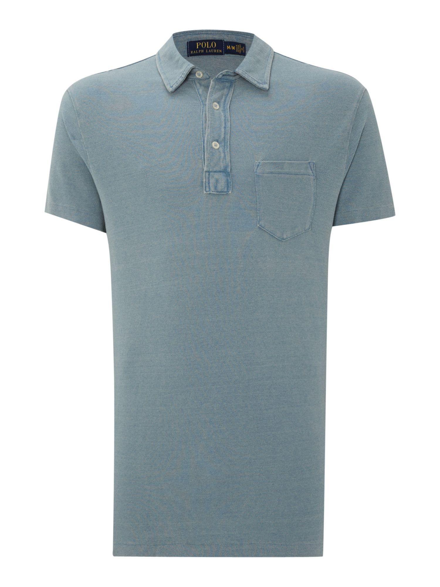 Polo Ralph Lauren Custom Fit Short Sleeve Mesh Polo Shirt
