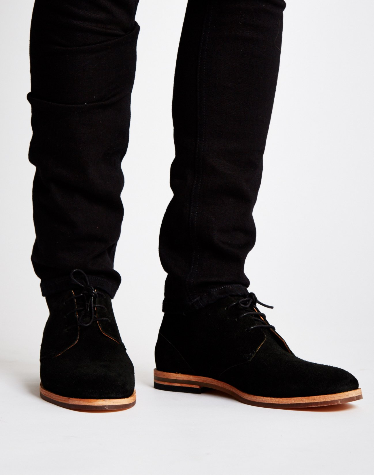 Black Hudson Shoes